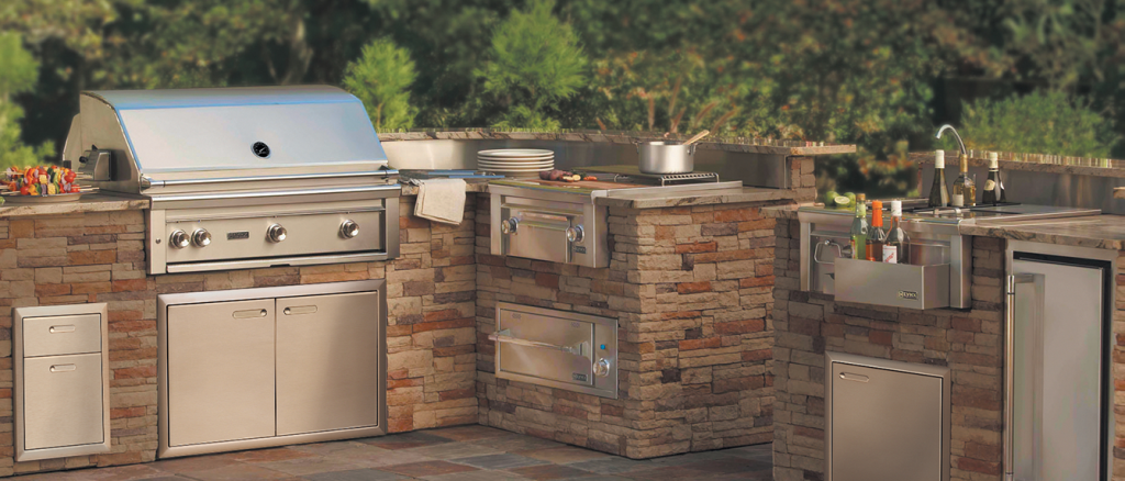 Built-In Barbeque Grills: A Perfect Addition To Your Outdoor Barbeque Area
